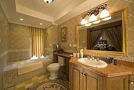 時尚衛生間洗手臺設計圖