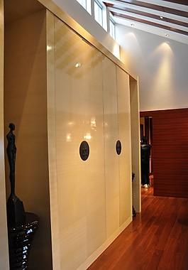 現代豪華別墅收納柜效果圖