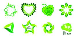 矢量綠化標志