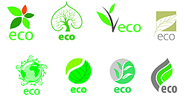 矢量綠化商標