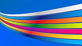 彩虹條紋壁紙設計圖片
