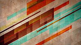創意懷舊壁紙設計圖片
