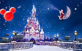 卡通圣誕節背景圖片