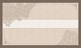歐式花紋邊框背景