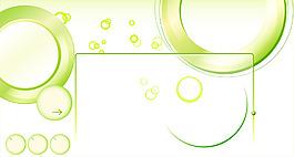 綠色圈圈背景