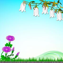 花朵青草樹葉素材