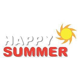 夏日派對陽光背景