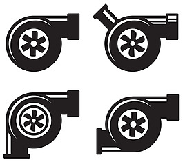 增壓器矢量素材-W-1