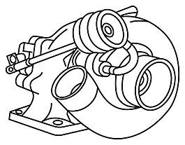 增壓器矢量素材-W-4