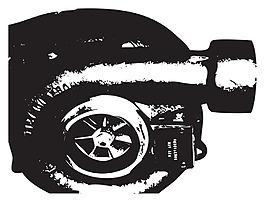 增壓器矢量素材-W-7