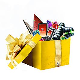 黃色禮品盒