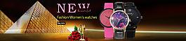 女款手表海報