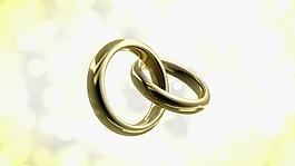 婚禮戒指視頻素材