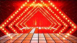 音符跳動舞臺LED舞臺動感視頻背景