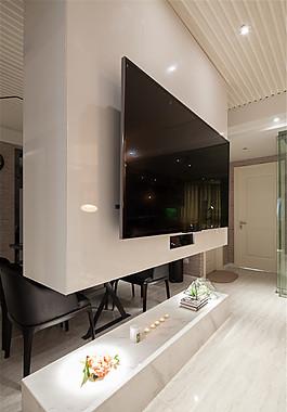 歐式現代客廳裝修效果圖