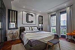 歐式別墅臥室裝修效果圖