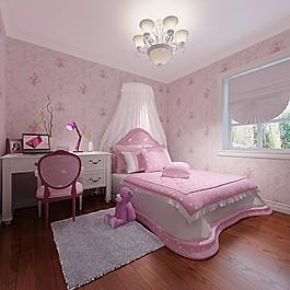 公主臥室裝修效果圖