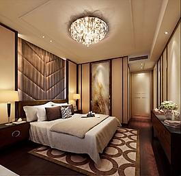 現代簡約臥室裝修效果圖
