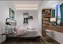 現代家居臥室裝修效果圖