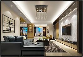 現代家居客廳裝修效果圖