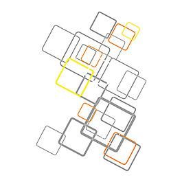 簡約線條方框元素