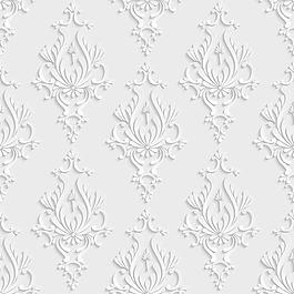 時尚現代花紋3d背景素材
