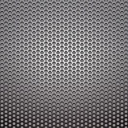 黑色镂空圆形金属背景图片