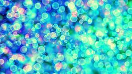 藍色夢幻光斑背景圖片