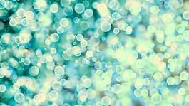 藍色夢幻光斑圖片
