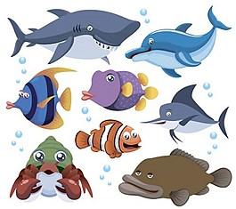 海魚背景素材