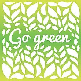 葉子綠色背景素材
