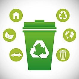 環保回收背景素材