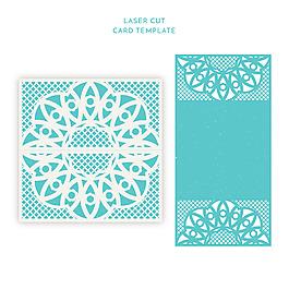 優雅的復古風格裝飾花紋卡片