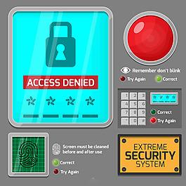 電腦網絡安全系統操作背景
