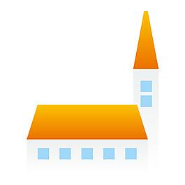 黃色屋頂元素