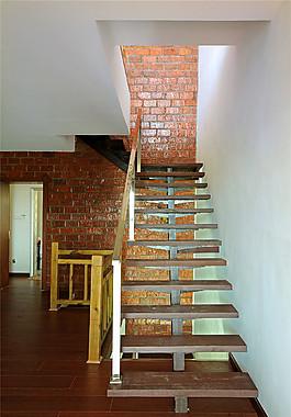现代简约室内楼梯设计图