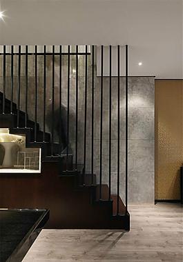室内创意楼梯护栏设计图