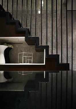室内创意楼梯设计图