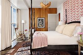 現代家居臥室硬裝效果圖