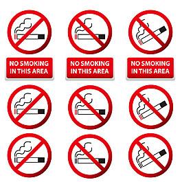 禁烟标志背景图片