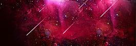 紅色星空淘寶背景