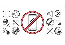 禁止图标设计
