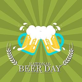 懷舊啤酒飲料宣傳海報