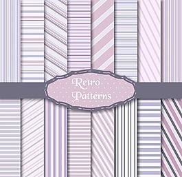 紫色線條背景