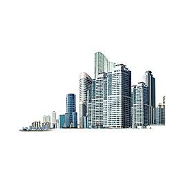 手繪城市元素