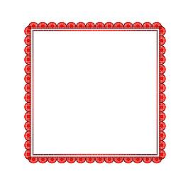 簡約邊框元素