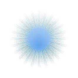 簡約星光線條