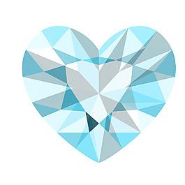 蓝色钻石元素