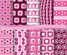 粉色可愛背景