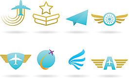飞机标志Logo